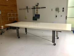 Architect James D'auria Industrial Dining or Conference Table