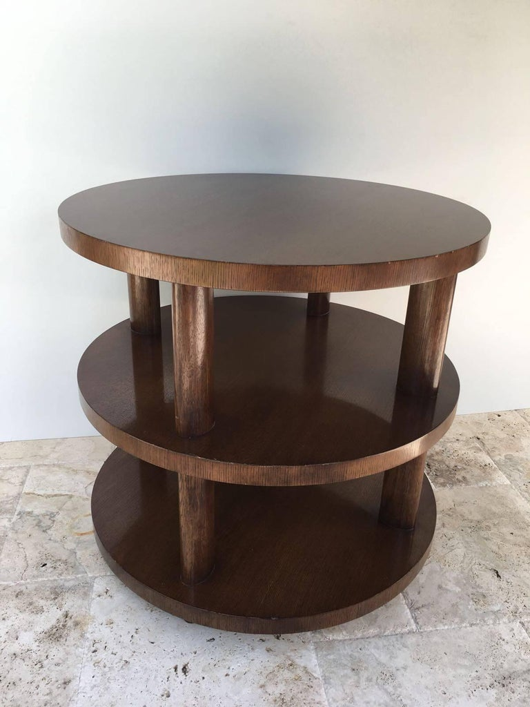 Art Deco Barbara Barry Occasional Table for Baker For Sale