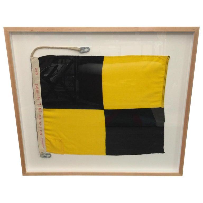 WW II Nautical Signal Flag