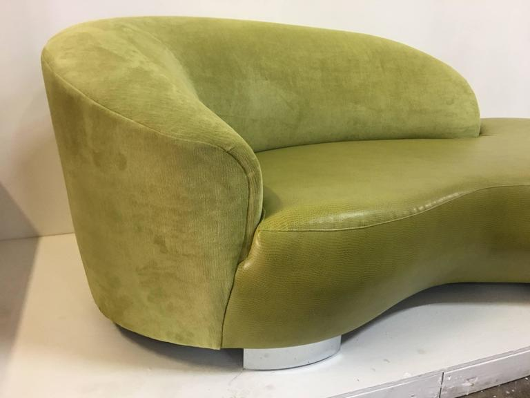 Curved sofa by Weiman in great clean