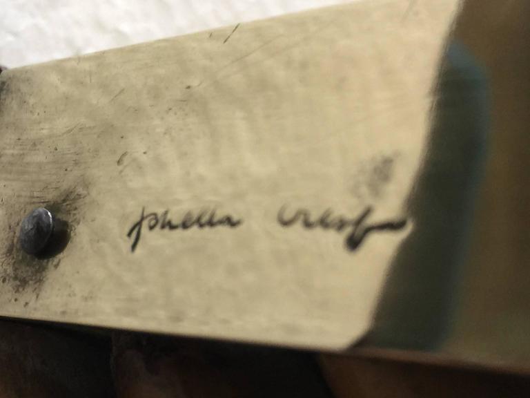 Italian Signed and Documented Gabriella Crespi