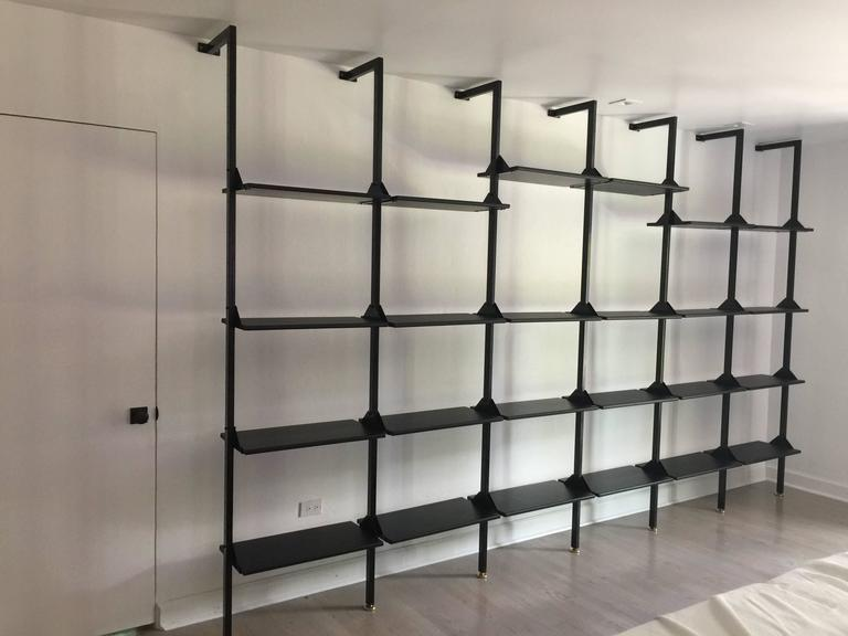 huge selection of f099e 301d6 Architectural Italian Wall-Mounted Shelving System For Sale ...