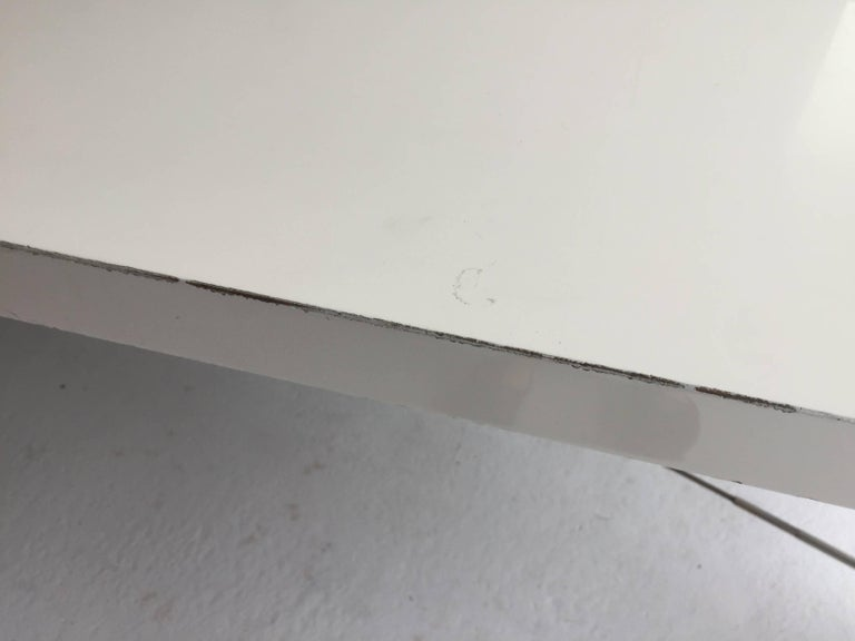 Steel Architect James D'auria Industrial Dining or Conference Table  For Sale