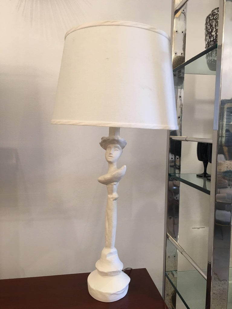 Sirmos Masque Table Lamp, Giacometti Design 2