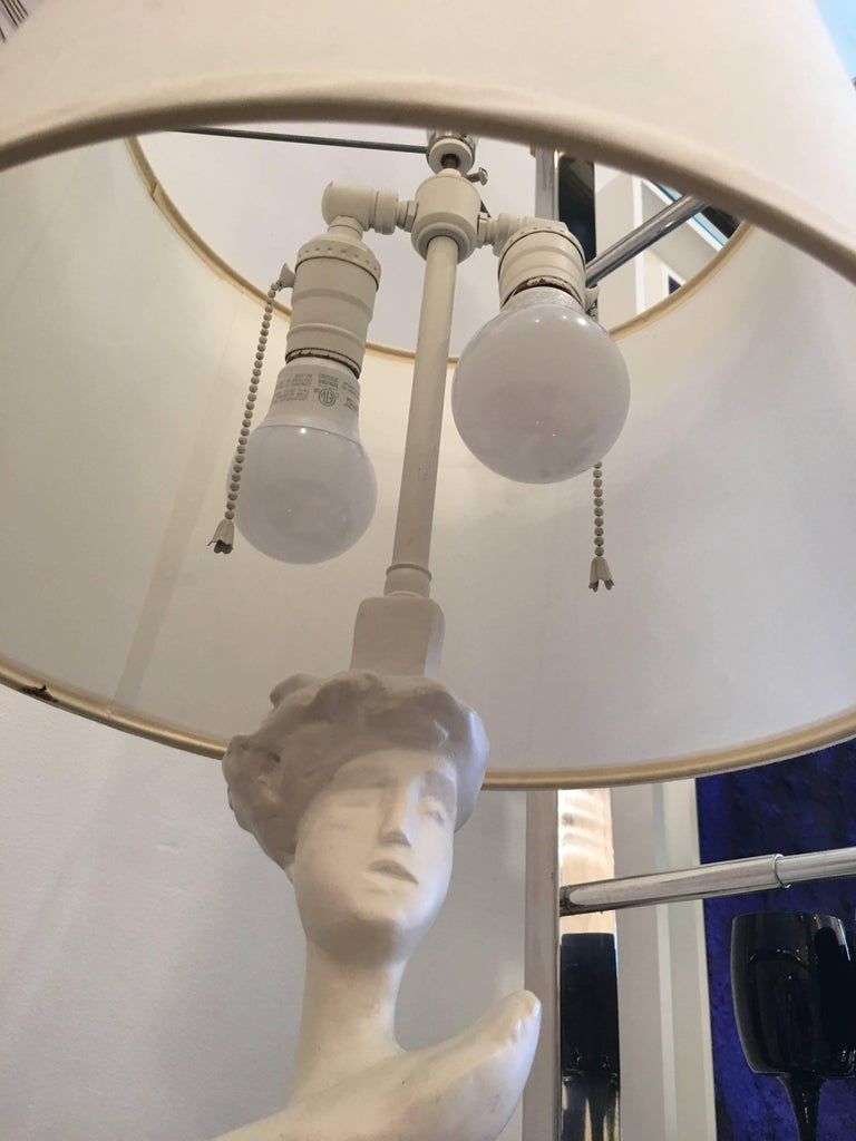Sirmos Masque Table Lamp, Giacometti Design 5