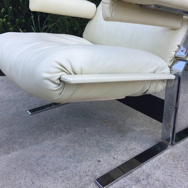 Saporiti Lounge Chair and Ottoman 5