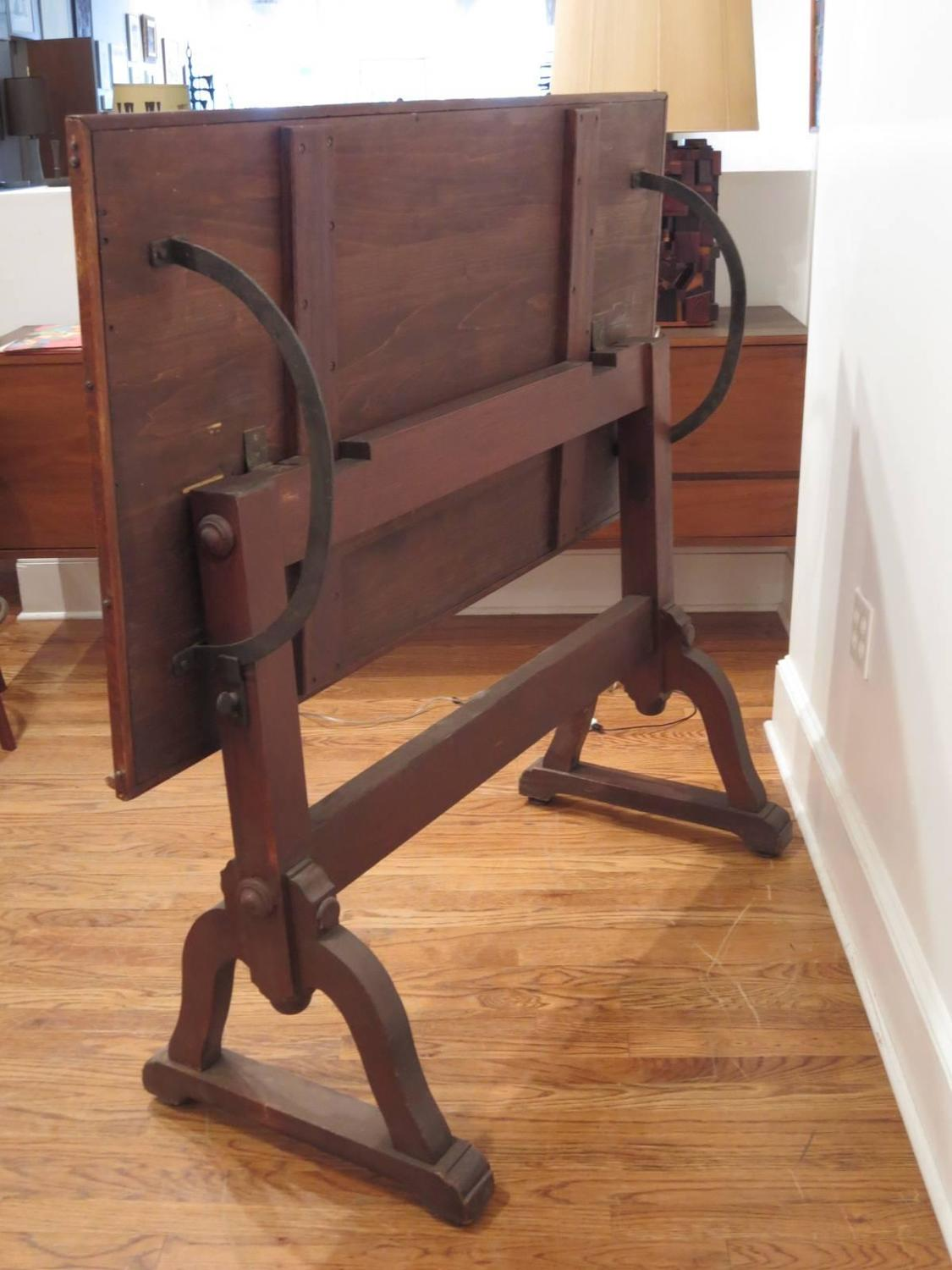 Early 1900s Drafting Table For Sale At 1stdibs