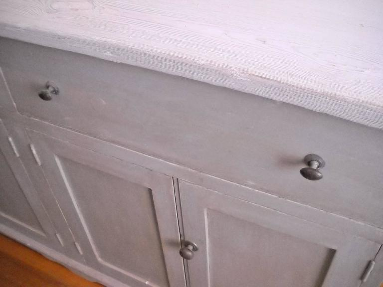 Mid-19th Century 4 door two drawer dresser base For Sale