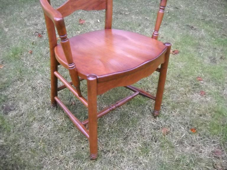 American Deluxe Ladder Back Chairs For Sale