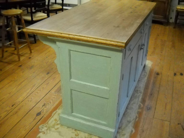 Wood Store Counter Designer by Quebec Architect For Sale