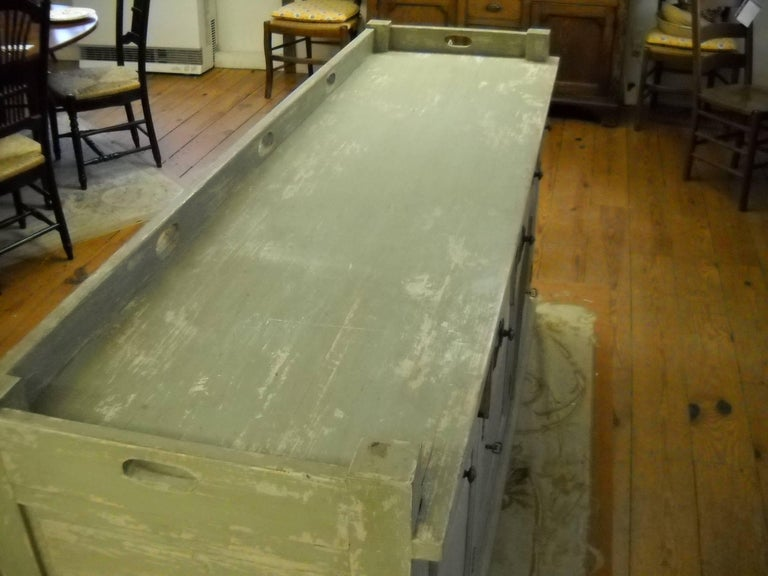 Late 19th Century Restaurant Store Counter from the South of France For Sale
