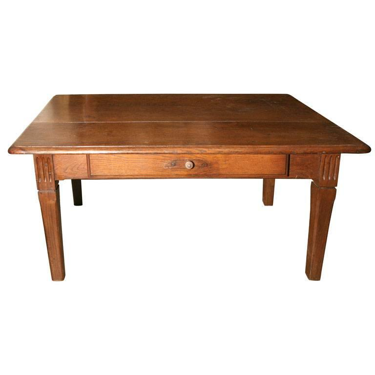 Rustic French Country Coffee Table For Sale