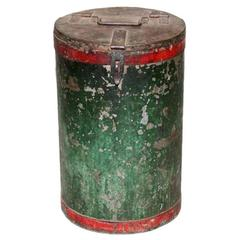 Vintage Grain Container from India