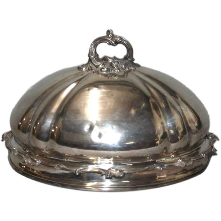 19th Century Large English Food Dome 1
