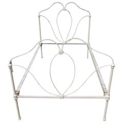 French Metal Twin-Size Bed