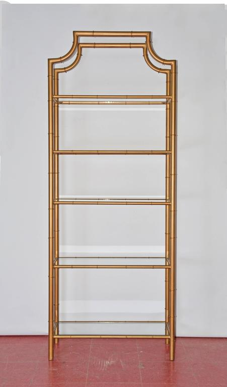 chinese chippendale faux bamboo etagere at 1stdibs. Black Bedroom Furniture Sets. Home Design Ideas