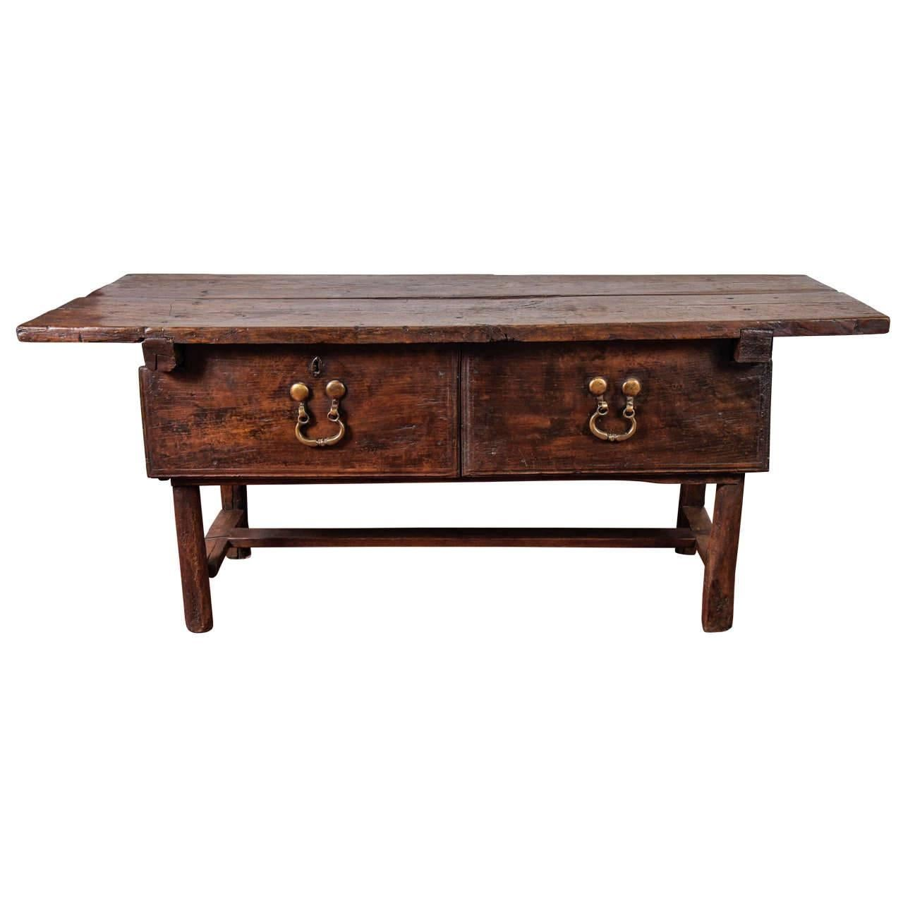18th Century Spanish Work Table