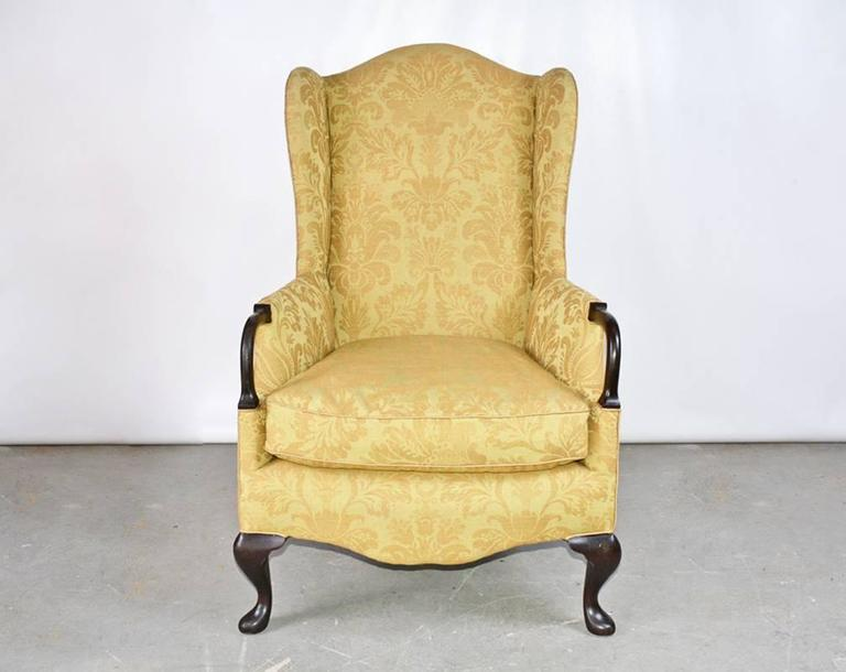 Other Vintage Wingback Armchair For Sale