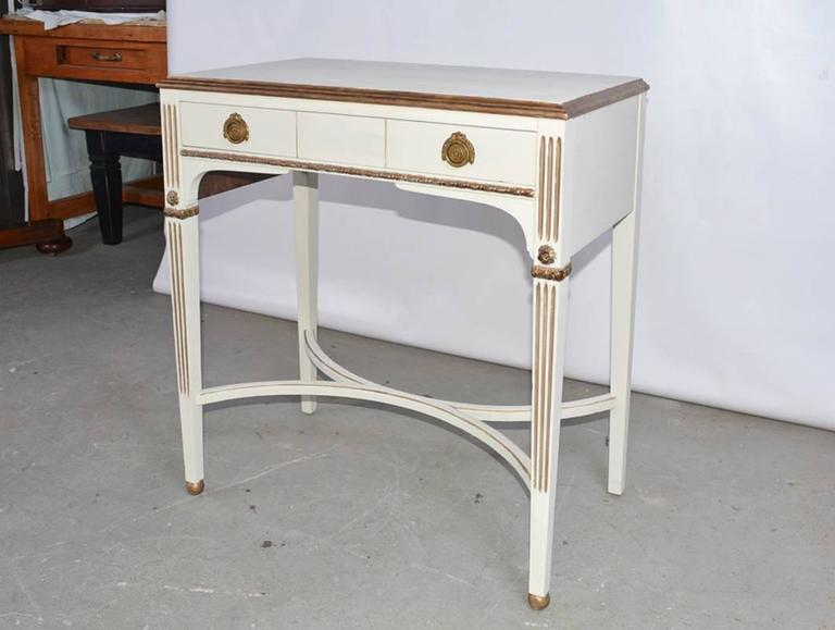 Vintage Neoclassical Dressing Table For Sale At 1stdibs