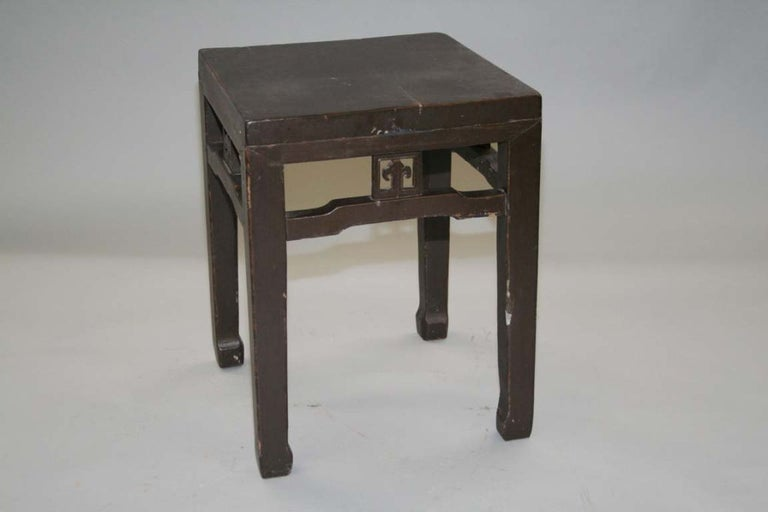 Wonderful antique Chinese stool can use as occasional table, side table or lamp table.