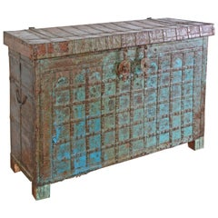 Antique Asian Console Chest