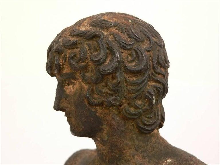 19th Century Classical Roman Style Bronze Sculpture For Sale 1
