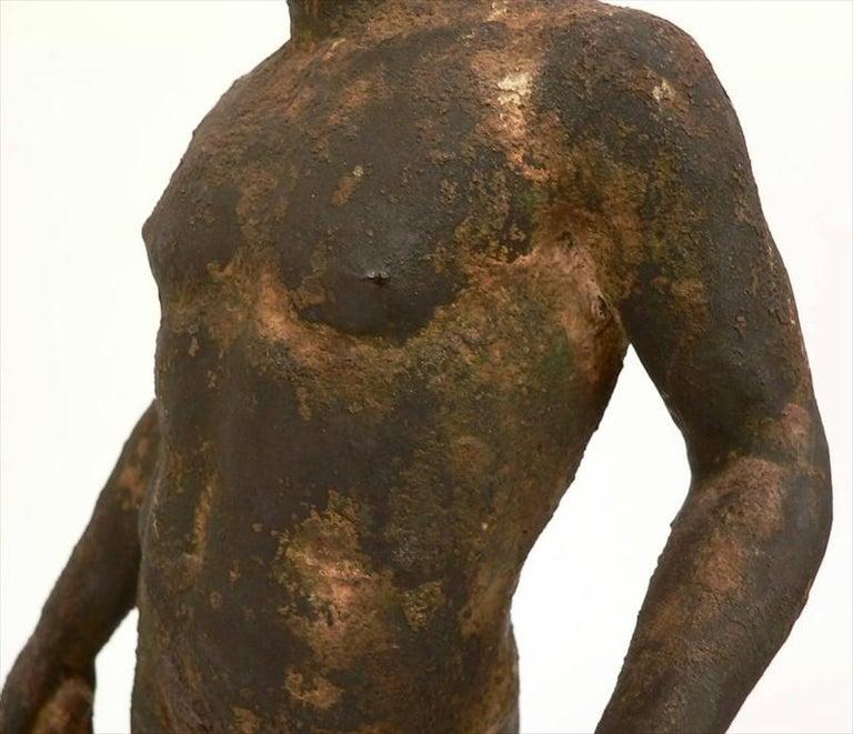 19th Century Classical Roman Style Bronze Sculpture For Sale 2