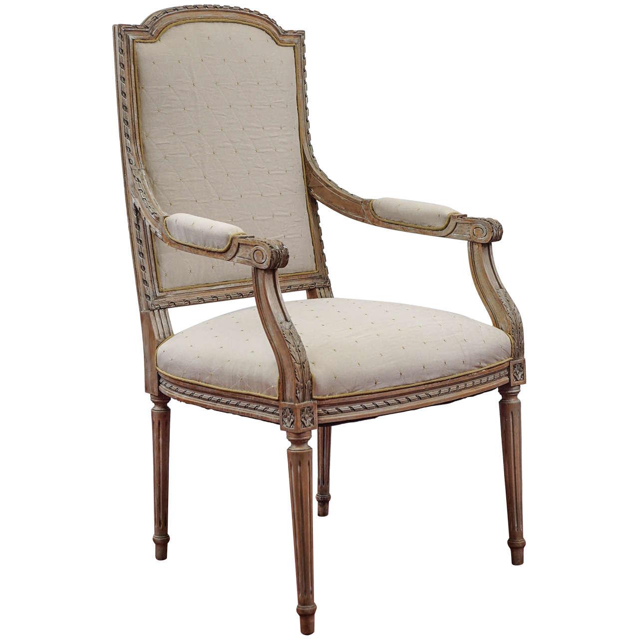 Done Louis XVI-Style Armchair