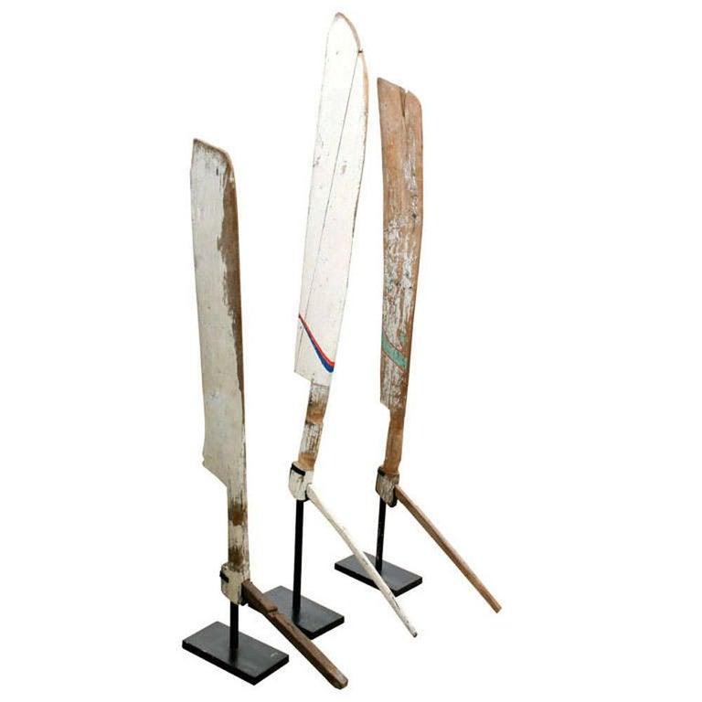 Primitive Nautical Wood Sculptures For Sale