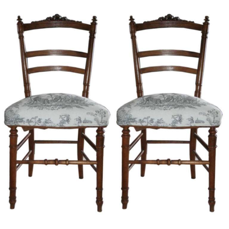 Napoleon III Ribbon Top Ballroom Chairs