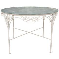 Salterini Style Round Patio Garden Table