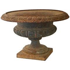 Victorian Cast-Iron Garden Urn