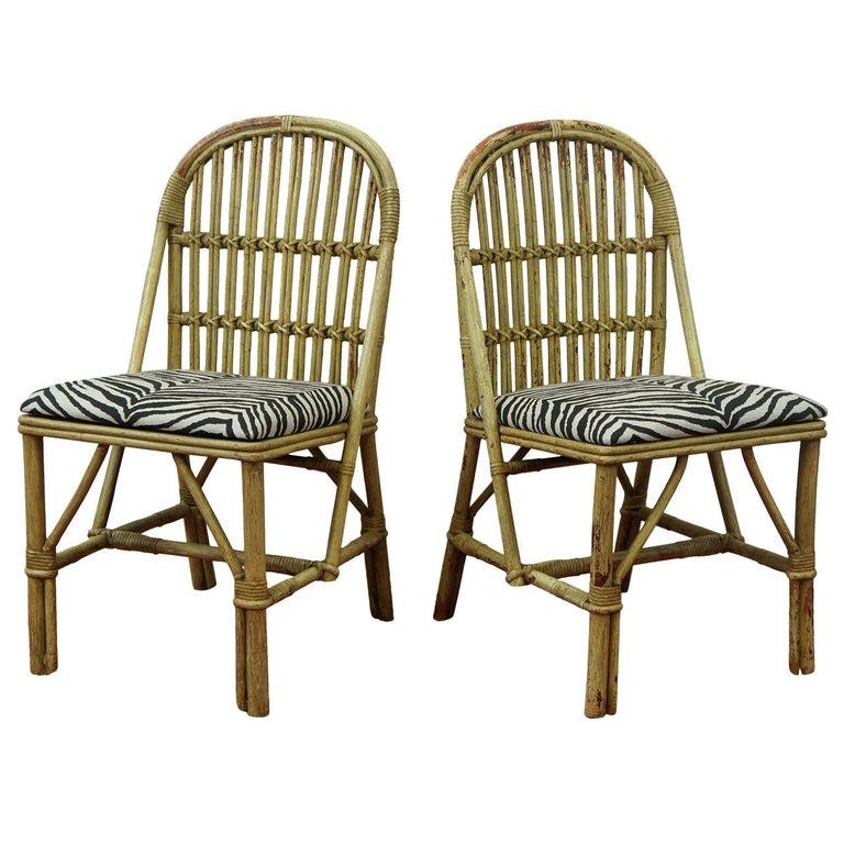 Bentwood Bamboo Chairs For Sale