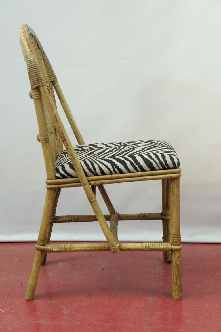 American Bentwood Bamboo Chairs For Sale