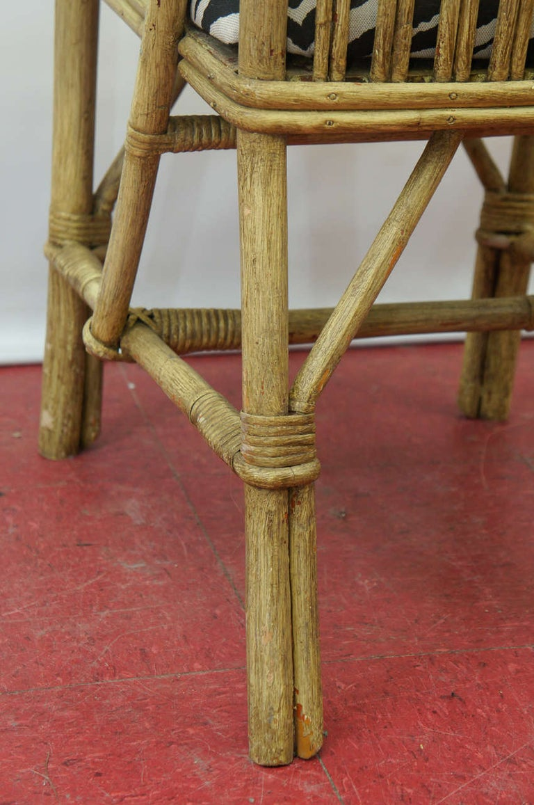 Mid-20th Century Bentwood Bamboo Chairs For Sale