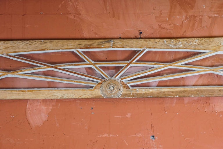 American Classical Federal Period Transom and Pilasters For Sale