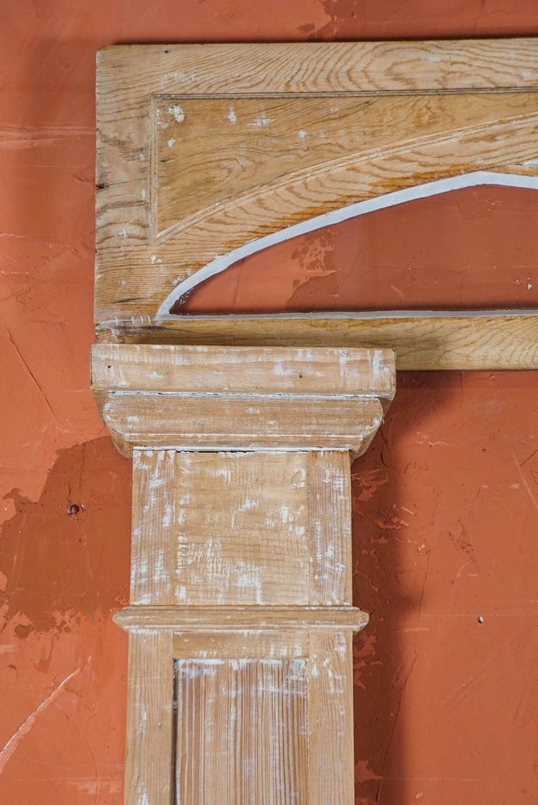 American Federal Period Transom and Pilasters For Sale