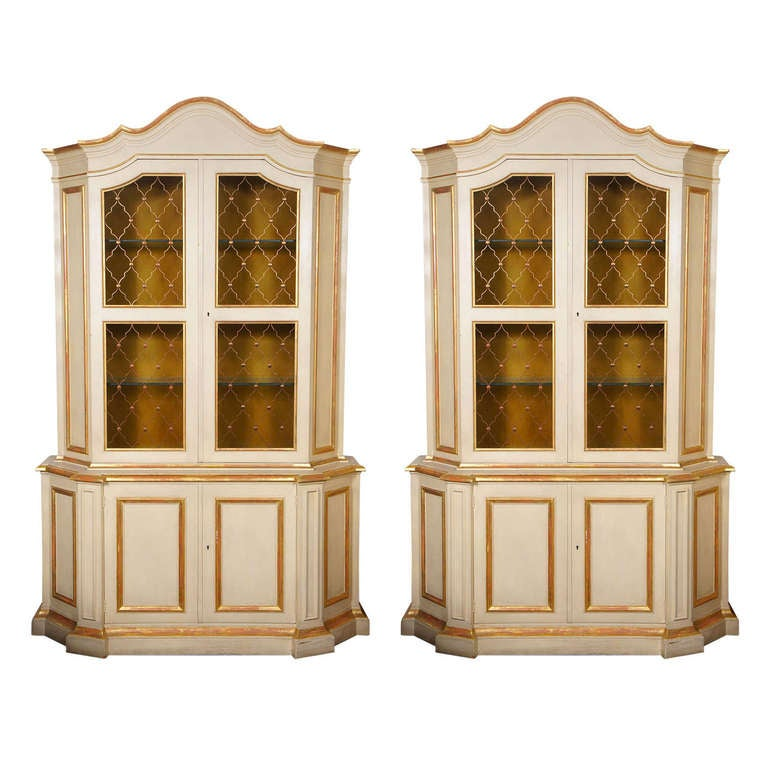 Delicieux Venetian Style Cabinets By Baker, Sold Singly