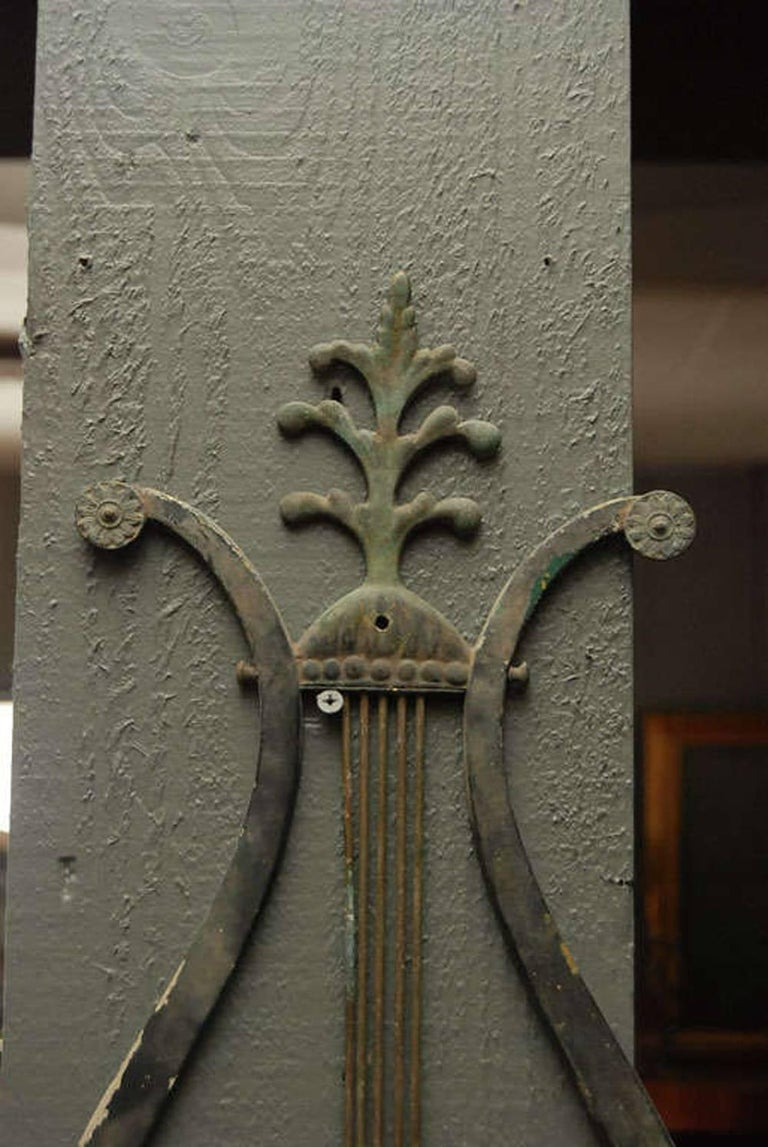 French Bronze Wall Sconce For Sale