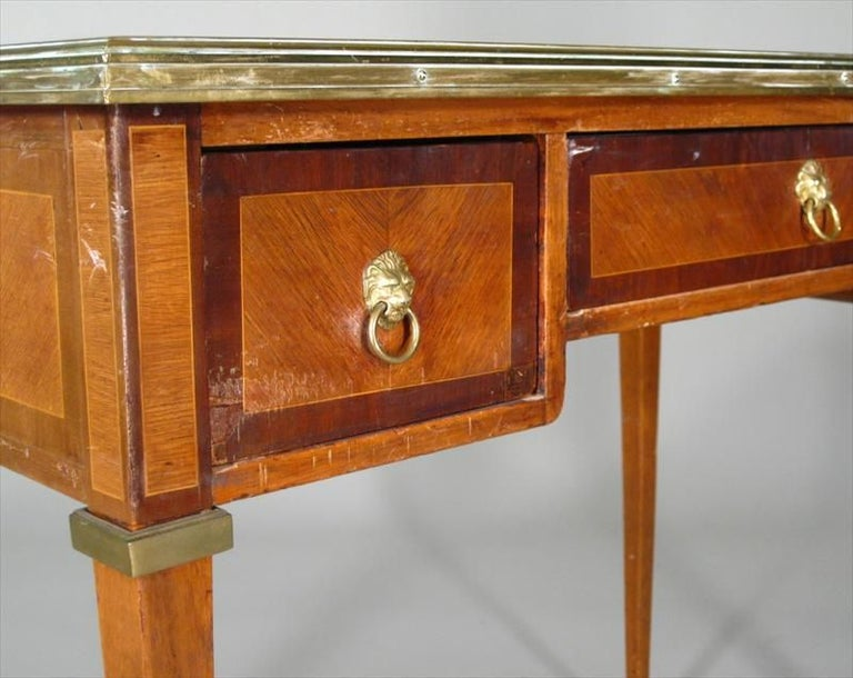 American Directoire Style Small Bureau Plat For Sale
