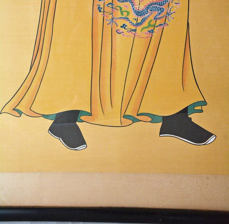 Chinoiserie Chinese Ancestor Portrait For Sale