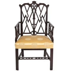Chinese Chippendale-Style Armchair