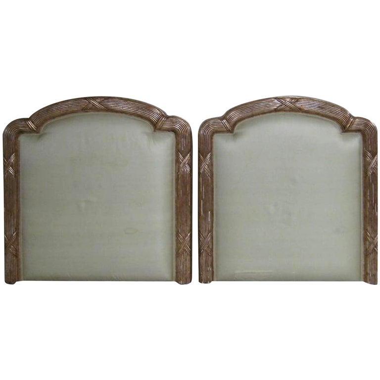 Neoclassical Gilded Headboards