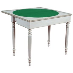 Louis XVI Style Console or Card Table