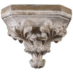 Antique Italian Renaissance-Style Wall Bracket