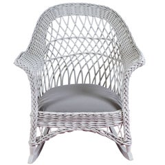 Bar Harbor Wicker Rocker
