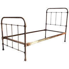 Victorian Single Iron Bed