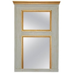 Neoclassical Style Trumeau Mantel Mirror