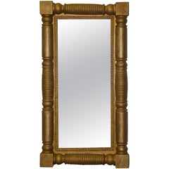 Large Federal Style Gilt Mirror