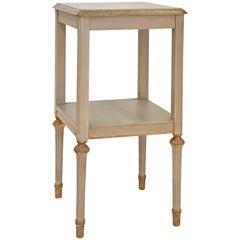 Neoclassical Two-Shelf  Nightstand